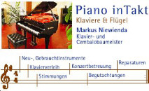 Piano in Takt- Klavierbaumeister, Cembalobaumeister